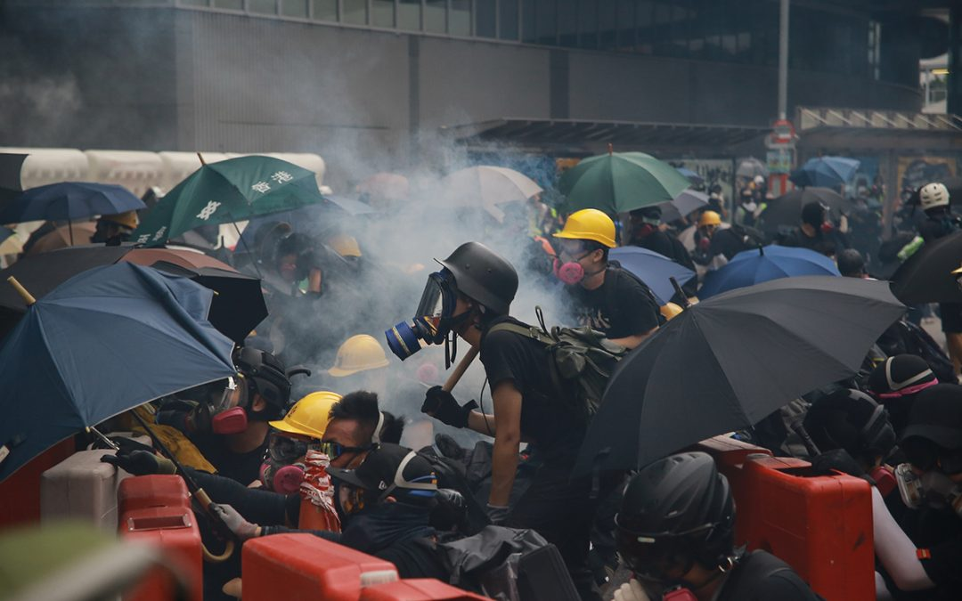 From the Front Line: Hong Kong Protests Photo Essay